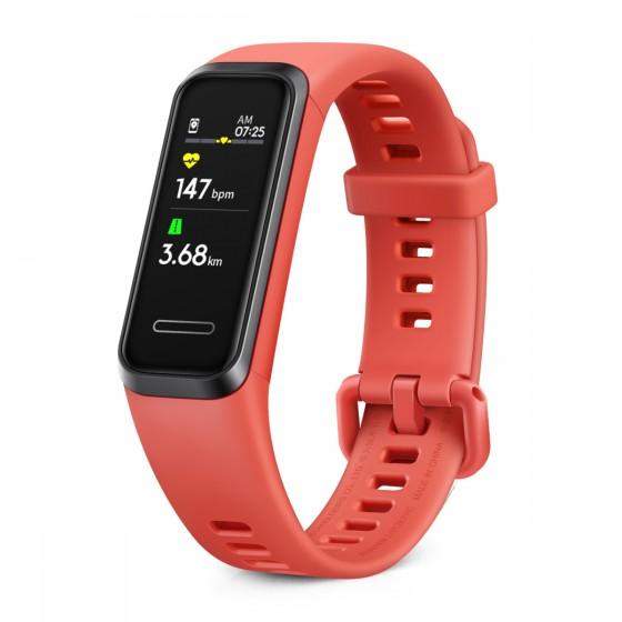 Huawei Band 4e - Piros...