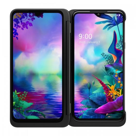 LG G850EM G8x ThinQ DS 128GB (6GB RAM) - Fekete + LG Dual Screen Tok